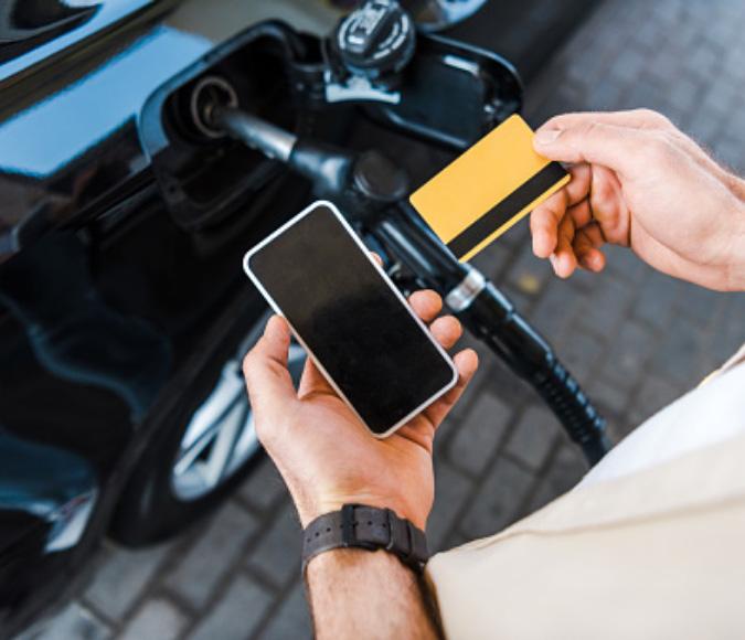 Welke diensten biedt een fleet card aan?